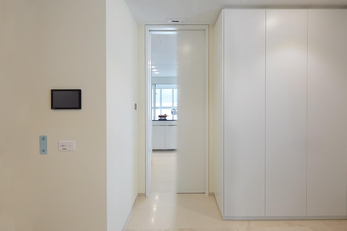 Joint Phonique Porte Coulissante portes phonique en bois - jusqu'à 50 db - frank türen ag